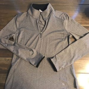 Danskin Women's Grey Pullover Athletic Shirt